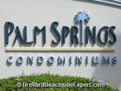 Palm Springs Condominiums, Indian Harbour Beach - Real Estate, For Sale, For Rent, Listings