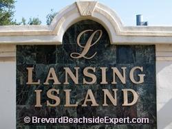 Lansing Island, Indian Harbour Beach
