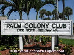 Palm Colony Club, Indialantic - Real Estate, For Sale, For Rent, Listings