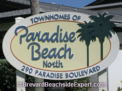 Townhomes of Paradise Beach North, Indialantic - Real Estate, For Sale, For Rent, Listings