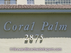 Coral Palm Condos, Indialantic - Real Estate, For Sale, For Rent, Listings