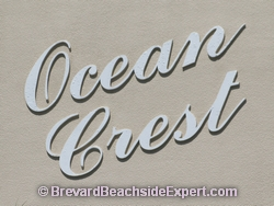 Ocean Crest Condos, Indialantic - Real Estate, For Sale, For Rent, Listings
