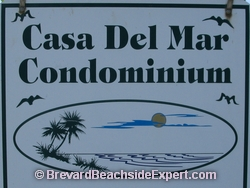 Casa Del Mar Condos, Indialantic - Real Estate, For Sale, For Rent, Listings