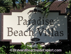 Paradise Beach Villas, Indialantic - Real Estate, For Sale, For Rent, Listings