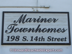 Mariner Townhomes, Cocoa Beach – For Sale